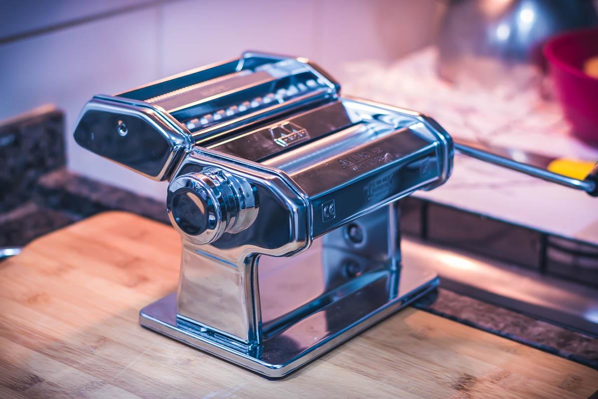 Marcatto - máquina de cortar massa fresca de macarrão